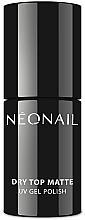 Voňavky, Parfémy, kozmetika Matná top na gélový lak - NeoNail Professional Dry Top Matte