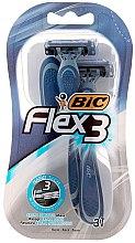 """Voňavky, Parfémy, kozmetika Pánsky holiaci strojček """"Flex 3 Comfort"""", 3ks - Bic"""