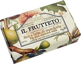"""Voňavky, Parfémy, kozmetika Mydlo """"Figy a mandľové mlieko"""" - Nesti Dante Il Frutteto Soap"""
