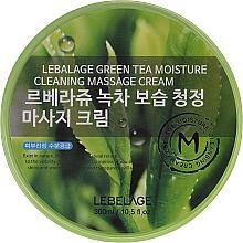 Voňavky, Parfémy, kozmetika Masážny krém na tvár - Lebelage Green Tea Moisture Cleaning Massage Cream