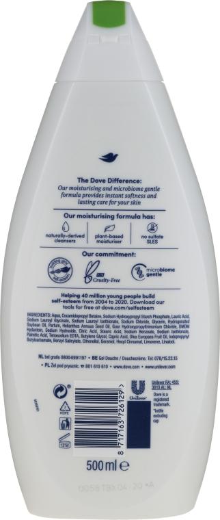 Sprchový gél s olivovým olejom - Dove Protect Care Body Wash — Obrázky N2