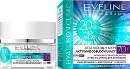 Krém na tvár, regeneračný - Eveline Cosmetics Hyaluron Clinic 70+ — Obrázky N1