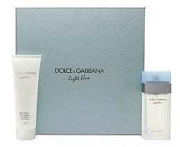 Voňavky, Parfémy, kozmetika Dolce & Gabbana Light Blue - Sada (edt/100ml + b/cr/100ml)