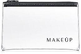 """Voňavky, Parfémy, kozmetika Kozmetická taška priehľadná """"Flat Glow"""" 23x13 cm - MakeUp"""