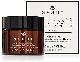 Voňavky, Parfémy, kozmetika Prostriedok 2 v 1 na rozjasnenie pokožky a redukciu tmavých škvŕn - Avant 2-1 Glutamic Skin Lightening & Dark Spot Reducer