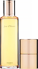 Voňavky, Parfémy, kozmetika Hermes Jour D'hermes - Sada (edp/refill/125ml + edp/mini/10ml)