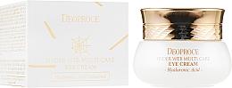 Voňavky, Parfémy, kozmetika Krém na viečka s proteínmi pavučiny - Deoproce Spider Web Multi-Care Eye Cream