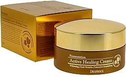 Voňavky, Parfémy, kozmetika Výživný krém na tvár s bublinkami kyslíka - Deoproce Fermentation Active Healing Cream