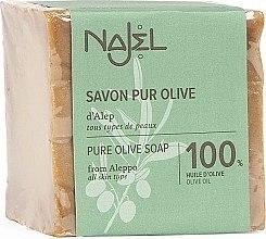 Voňavky, Parfémy, kozmetika Olivové mydlo 100% - Najel Pure Olive Soap From Alepo