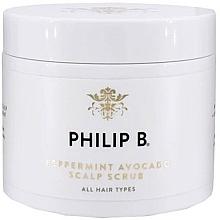 Voňavky, Parfémy, kozmetika Scrub na pokožku hlavy - Philip B Peppermint Avocado Scalp Scrub