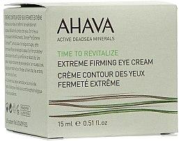 Voňavky, Parfémy, kozmetika Spevňujúci krém na pokožku okolo očí - Ahava Time to Revitalize Extreme Firming Eye Cream
