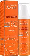 Voňavky, Parfémy, kozmetika Opaľovací krém pre tvar - Avene Eau Thermale Sun Care Fluid SPF50