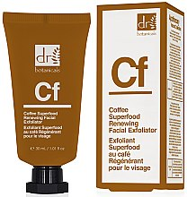 "Voňavky, Parfémy, kozmetika Peeling pre tvár ""Káva"" - Dr. Botanicals Coffee Superfood Renewing Facial Exfoliator"
