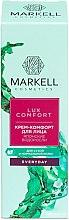 "Voňavky, Parfémy, kozmetika Krém-komfort tvár ""Japonské riasy"" - Markell Cosmetics Lux-Comfort"