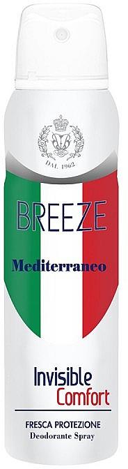 Dezodorant v spreji - Breeze Mediterranean Invisible Comfort Deodorant Spray — Obrázky N1