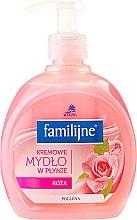 Voňavky, Parfémy, kozmetika Tekuté mydlo - Pollena Savona Familijny Rose Creamy Liquid Soap