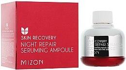 """Voňavky, Parfémy, kozmetika Nočné sérum """"Obnovenie unavenej pleti"""" - Mizon Night Repair Seruming Ampoule"""