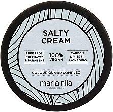 Voňavky, Parfémy, kozmetika Stylingový krém na vlasy, slabá fixácia - Maria Nila Salty Cream