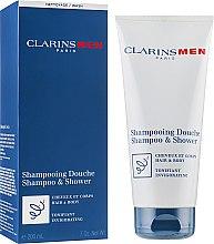Voňavky, Parfémy, kozmetika Šampón na vlasy a telo, tónizujúci - Clarins Men Shampoo & Shower