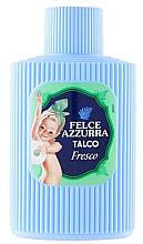 Voňavky, Parfémy, kozmetika Mastenec na telo - Felce Azzurra Fresh Talcum Powder