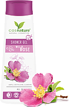 """Voňavky, Parfémy, kozmetika Ošetrovací sprchový gél """"Šípka"""" - Cosnature Shower Gel Wild Rose"""