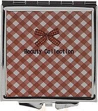 Voňavky, Parfémy, kozmetika Zrkadlo vreckové 85604, 6 cm, štvorcový - Top Choice Beauty Collection Mirror