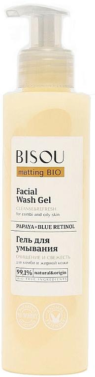 "Gél na umývanie ""Čistenie a sviežosť"" - Bisou Matting Bio Facial Wash Gel"