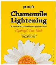Voňavky, Parfémy, kozmetika Hydrogélová zosvetľujúca maska na tvár - Petitfee&Koelf Chamomile Lightening Hydrogel Face Mask
