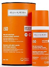 Voňavky, Parfémy, kozmetika Opaľovací fluid pre citlivú pokožku - Bella Aurora Solar Anti-Stain Sensitive Skin SPF50+