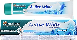 Voňavky, Parfémy, kozmetika Zubná pasta - Himalaya Herbals Active White Fresh Gel