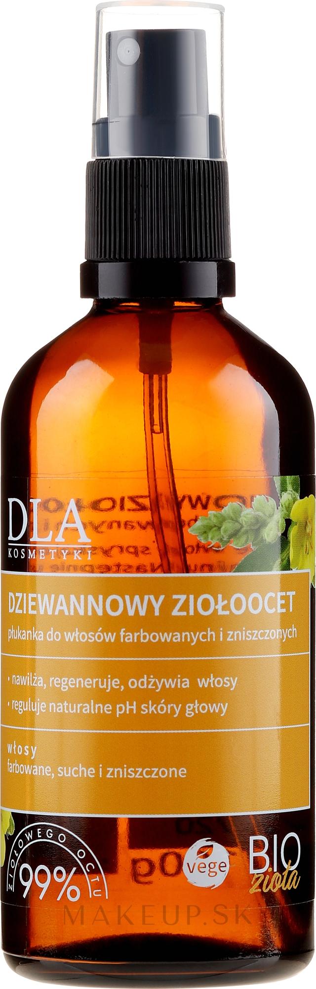 Oplachovač pre farbené, suché a poškodené vlasy - DLA — Obrázky 100 g