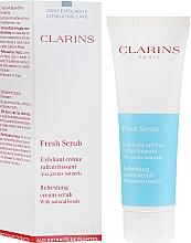Voňavky, Parfémy, kozmetika Peeling na tvár - Clarins Fresh Scrub