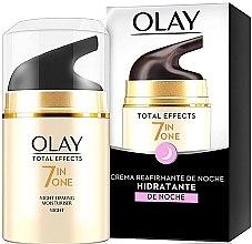 Voňavky, Parfémy, kozmetika Nočný krém so spevňujúcim účinkom - Olay Total Effects Anti-Edad Night Moisturiser