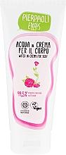 Voňavky, Parfémy, kozmetika Hydratačný krém na telo s organickou ružovou vodou - Ekos Personal Care