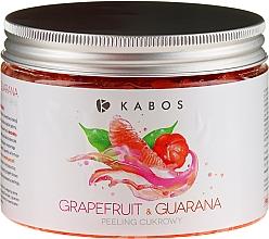Voňavky, Parfémy, kozmetika Cukrový telopvý peeling - Kabos Grapefruit & Guarana Sugar Peeling