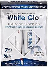 Voňavky, Parfémy, kozmetika Sada - White Glo Diamond Series Set (toothpaste/100ml + toothgel/50ml)