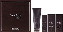 Voňavky, Parfémy, kozmetika Sada - Oriflame NovAge Men Set (gel/50ml + ser/50ml + gel/15ml + cleancer/125ml)