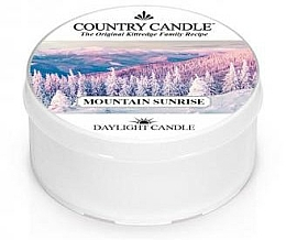 Voňavky, Parfémy, kozmetika Čajová sviečka - Country Candle Mountain Sunrise Daylight