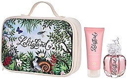 Voňavky, Parfémy, kozmetika Lolita Lempicka Lolitaland - Sada (edp/40ml + b/lot/75ml + bag)