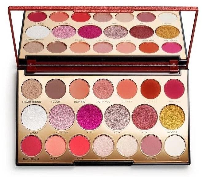 Paleta očných tieňov, 20 odtieňov - Makeup Revolution Precious Stone