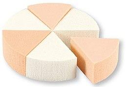 Voňavky, Parfémy, kozmetika Špongie na líčenie, 35821, biele a béžové, 6 ks - Top Choice Foundation Sponges