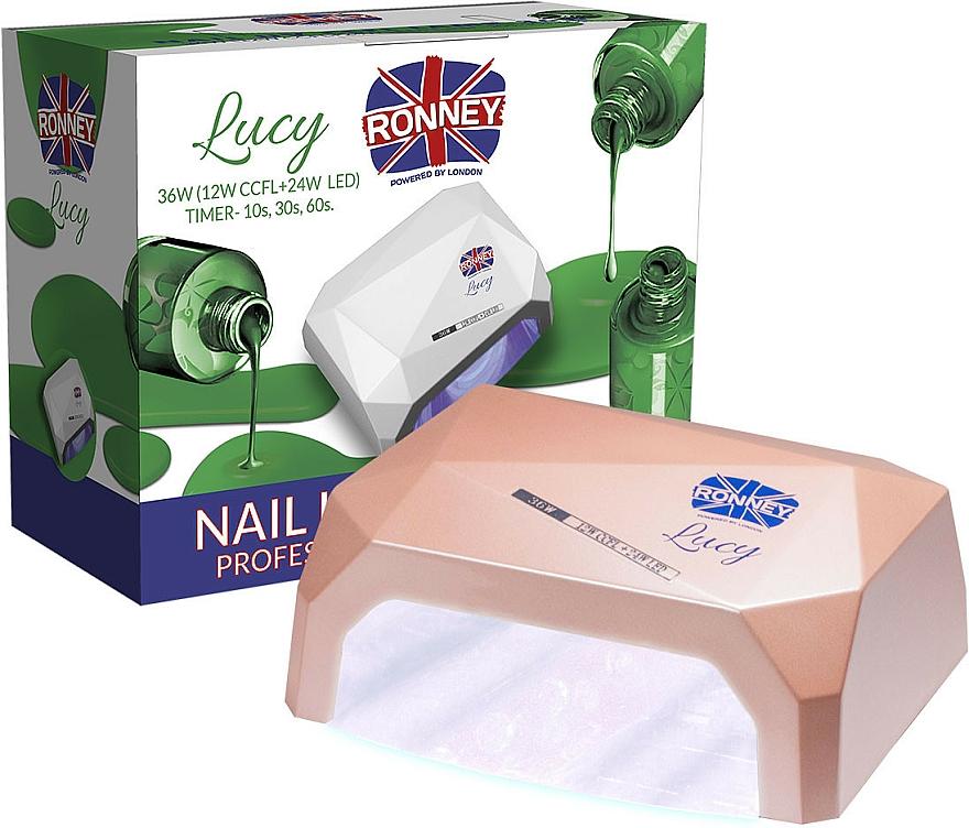 Lampa CCFL+LED, kávová - Ronney Profesional Lucy CCFL + LED 36W (GY-LCL-021) Lamp