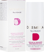 Voňavky, Parfémy, kozmetika Hydratačný gélový krém na oči 30-40+ - Dermika Re.Visage