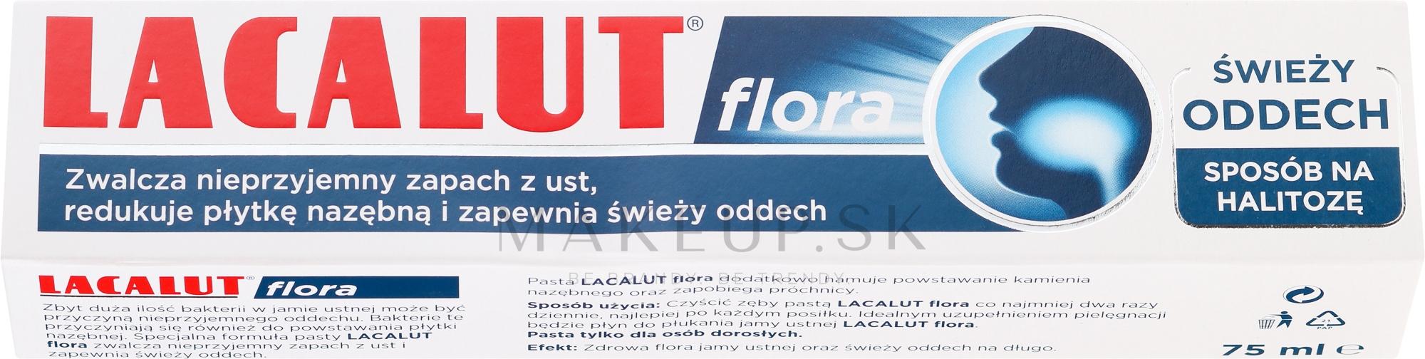 Zubná pasta - Lacalut Flora Toothpaste — Obrázky 75 ml