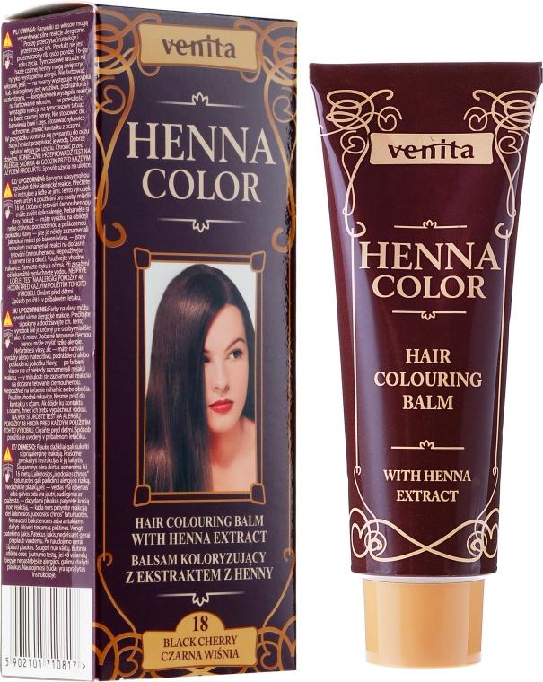 Balzam na vlasy s extraktom heny - Venita Henna Color