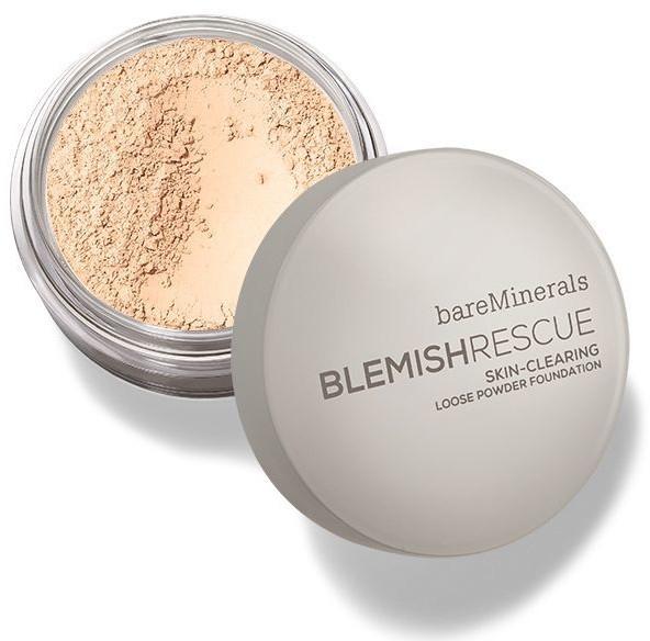 Sypký púder na pokožku - Bare Escentuals Bare Minerals Blemish Rescue Skin-Clearing Loose Powder Foundation