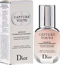 Voňavky, Parfémy, kozmetika Prípravok o starostlivosť pleti okolo očí - Dior Capture Youth Age-Delay Advanced Eye Treatment