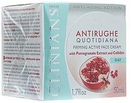 Voňavky, Parfémy, kozmetika Denný krém proti prvým vráskam - Clinians Melograno Cream