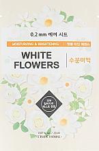 Voňavky, Parfémy, kozmetika Látková pleťová maska Biele kvety - Etude House 0.2 Therapy Air Mask No.White Flowers