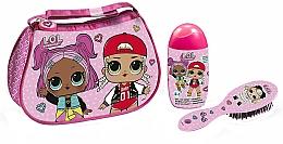 Voňavky, Parfémy, kozmetika Air-Val International LOL Surprise - Sada (shmp/120ml + brush + bag)